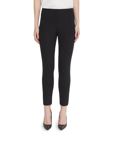 Alice Zip-Hem Skinny Ankle Pants
