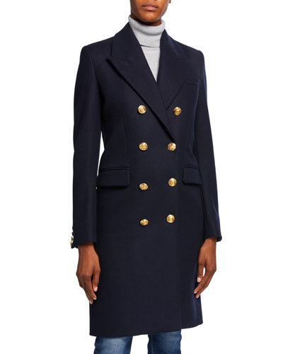 60s Double-Breasted Pea Coat