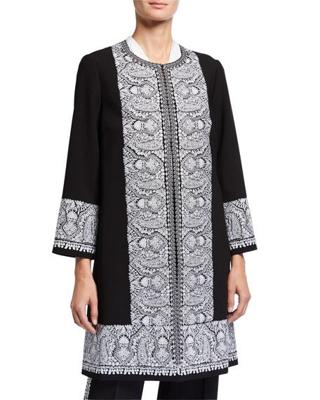 Kobi Halperin Plus Size Marta Paisley Coat