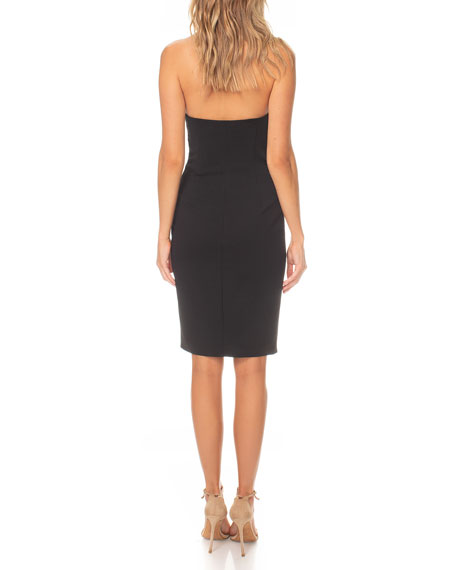 Katie May Dignified Asymmetric Bustier Dress