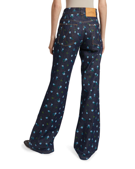 The Marc Jacobs The Flared Jean