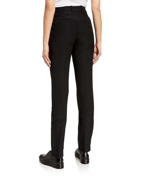 Image 2 of 3: Helmut Lang Cady Straight-Leg Suit Pants