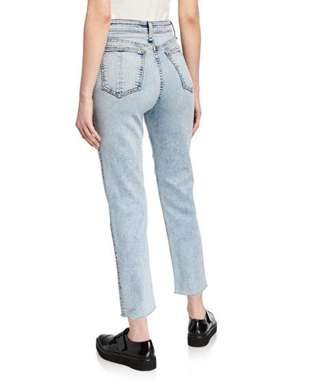 Rag & Bone Jane Super High-Rise Ankle Cigarette Jeans
