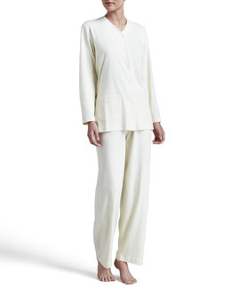 P. Jamas Butterknit Pajamas, Yellow