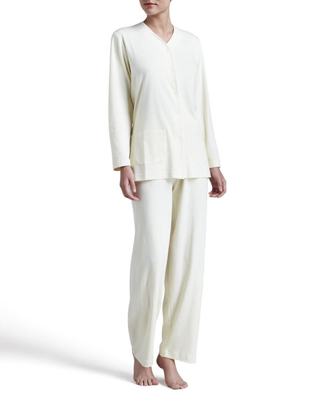 Butterknit Pajamas, Yellow