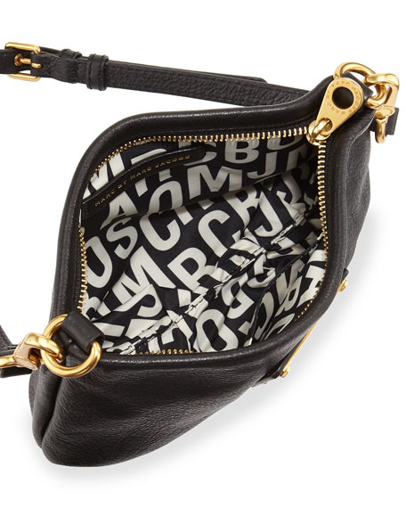 Classic Q Percy Crossbody Bag, Black