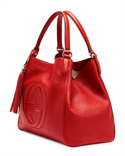 Gucci Red Soho Shoulder Bag 106