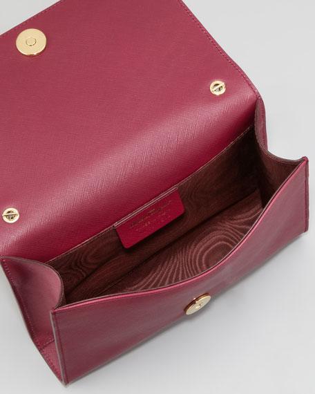 Salvatore Ferragamo Miss Vara Mini Flap-Top Crossbody Bag 1ffdc8fc207c2