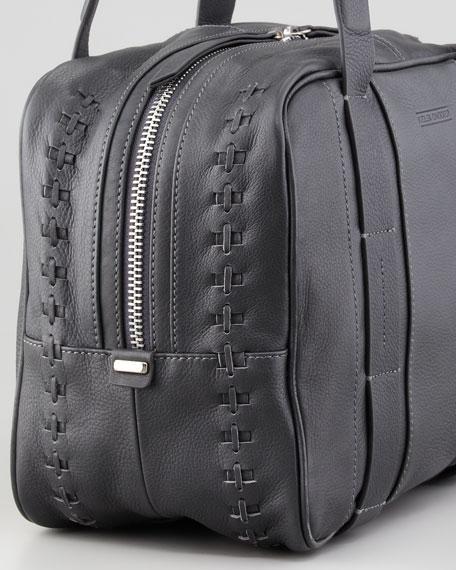 Harley City Satchel Bag, Charcoal