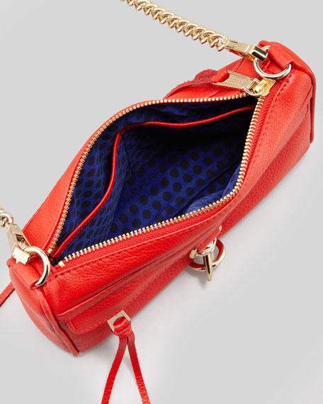 Mini MAC Clutch Bag, Fire Engine