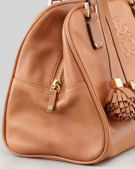 Thea Satchel Bag, Nutmeg