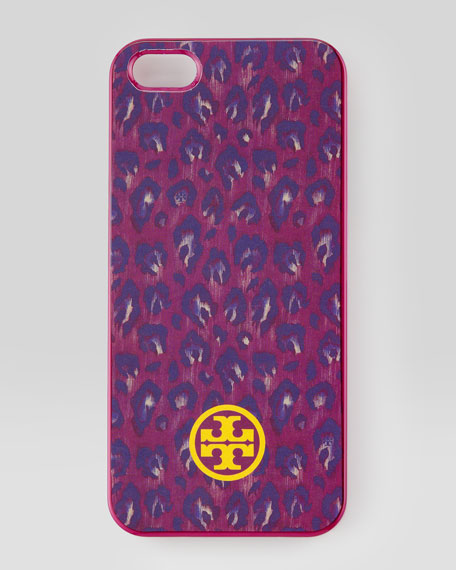 Wray Leopard-Print Hard-Shell iPhone 5 Case, Wildflower Multi