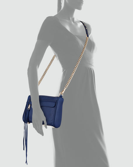 Mini MAC Core Crossbody Bag, Navy