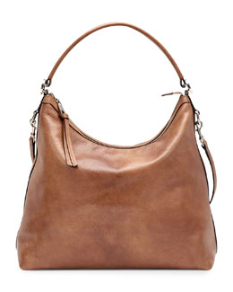 Gucci Miss GG Leather Hobo, Tan