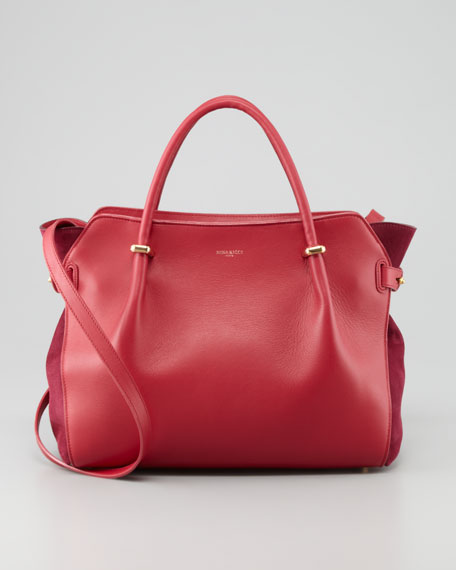 Marche Small Tote Bag, Rose
