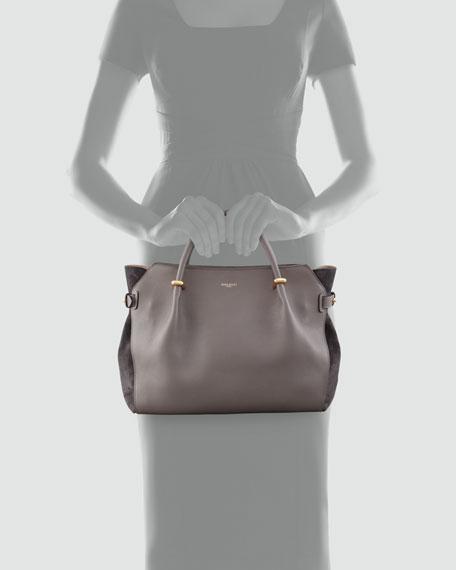 Marche Small Tote Bag, Gray