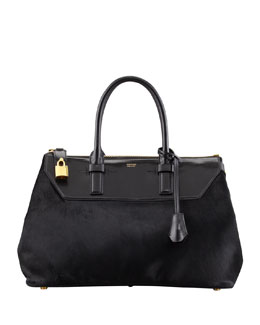 Tom Ford Petra Calf Hair Tote