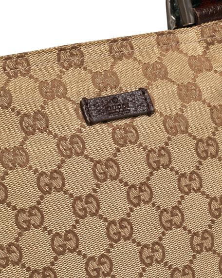 de0dc3819c50 Start. Gucci Original GG Canvas Messenger Bag with Signature ...