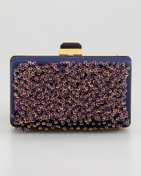Sea Breeze Evening Minaudiere, Navy