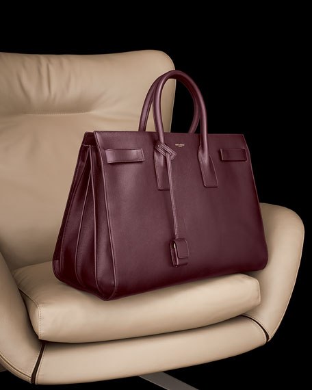 Sac de Jour Large Carryall Bag, Wine