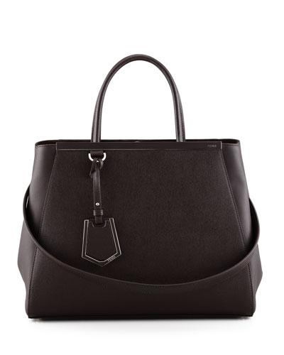 Fendi 2Jours Tote Bag, Brown
