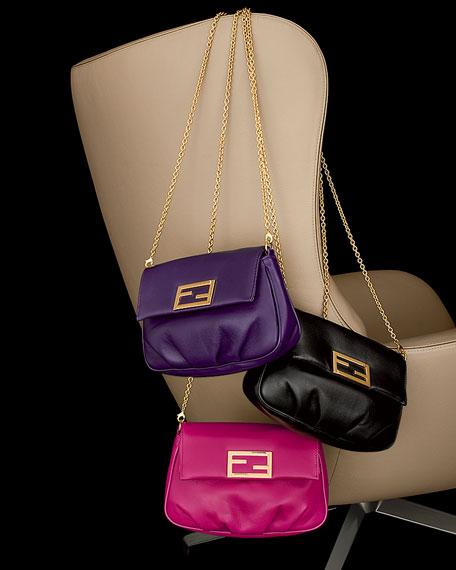 Fendista Pochette Crossbody Bag, Purple
