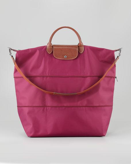 Le Pliage Expandable Travel Bag, Fuchsia