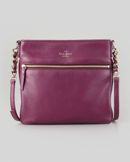 cobble hill ellen crossbody bag, plum