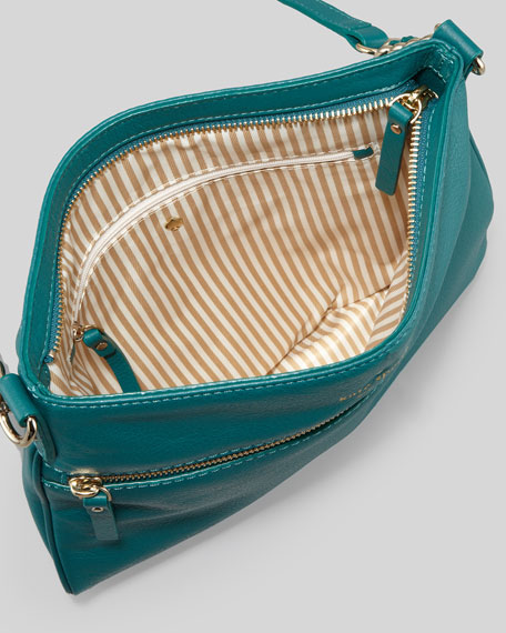 cobble hill ellen crossbody bag, emerald