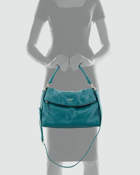 cobble hill little minka crossbody bag, emerald