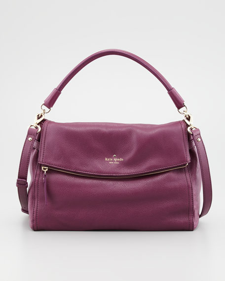 cobble hill little minka crossbody bag, purple