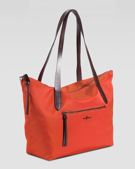 Parker Nylon Tote Bag, Cinnabar