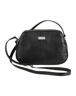 Cole Haan Village Double Zip Crossbody Bag, Black