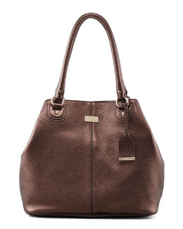 Cole Haan Village Convertible Leather Tote Bag, Brown