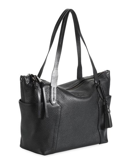 48e3b5310 Cole Haan Parker Zip-Top Shopper Tote Bag, Black
