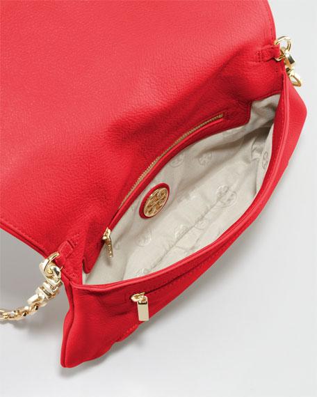 Amanda Logo Clutch Bag, Red