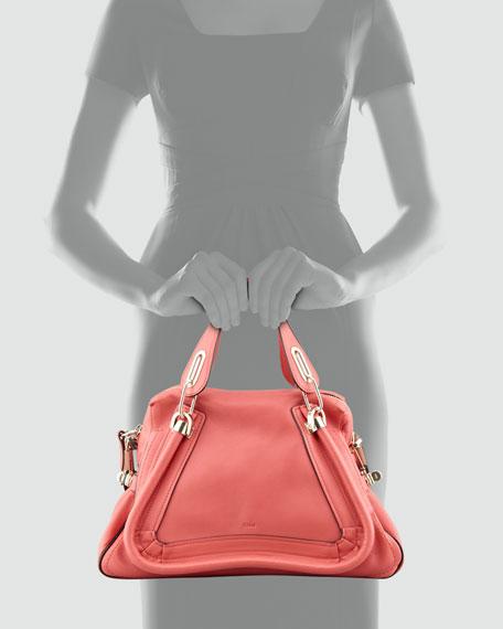 Paraty Medium Military Shoulder Bag, Rose