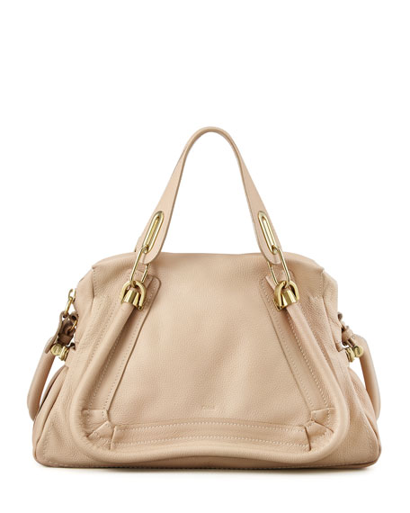 Paraty Medium Shoulder Bag, Beige