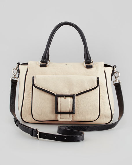 abbey court rubin satchel bag, tan