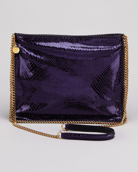 Falabella Medium Crossbody Bag, Purple
