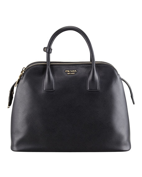 how much is a prada wallet - Prada Saffiano Cuir Triple-Zip Dome Tote Bag