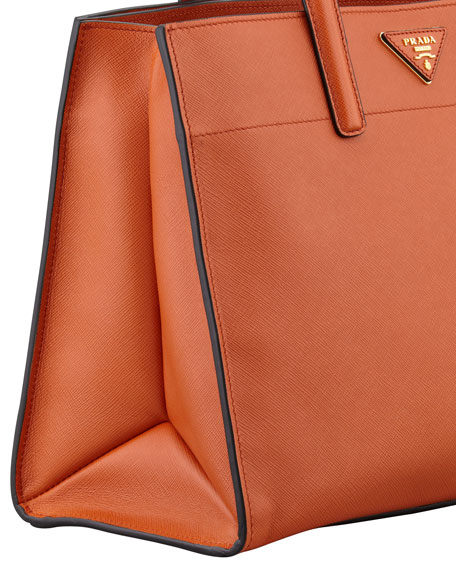 prada red polyester handbag