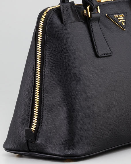 Medium Saffiano Promenade Bag Black (Nero)