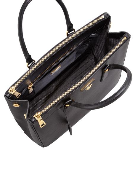 Saffiano Executive Tote Bag, Black (Nero)