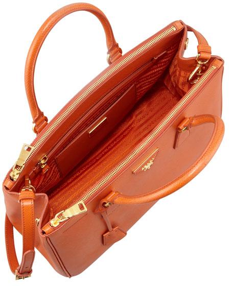 Orange Prada Bag