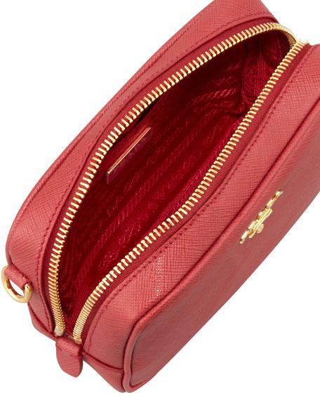 prada saffiano colorblock crossbody bag