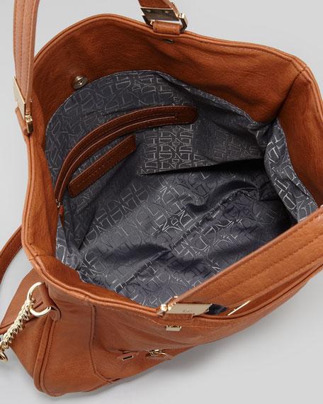 Peyton Tote Bag, Cognac