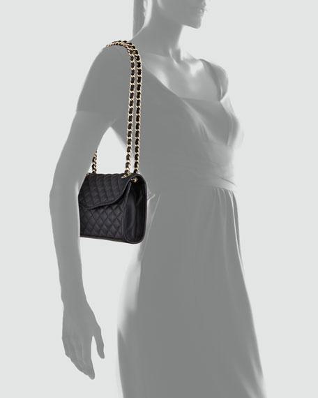 Quilted Affair Mini Shoulder Bag, Black