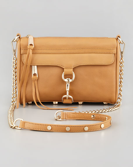Mini MAC Crossbody Bag, Tawny