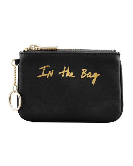 Cory In-the-Bag Zip Pouch, Black